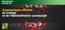 COVID 19 - Informations aux ASBL